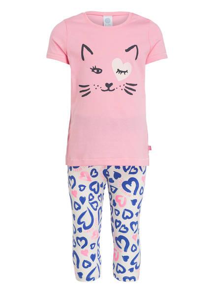 Sanetta Schlafanzug in 7/8-Länge, Farbe: ROSA (Bild 1)