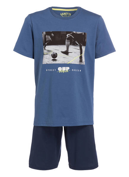 Sanetta Schlafanzug , Farbe: BLAU (Bild 1)