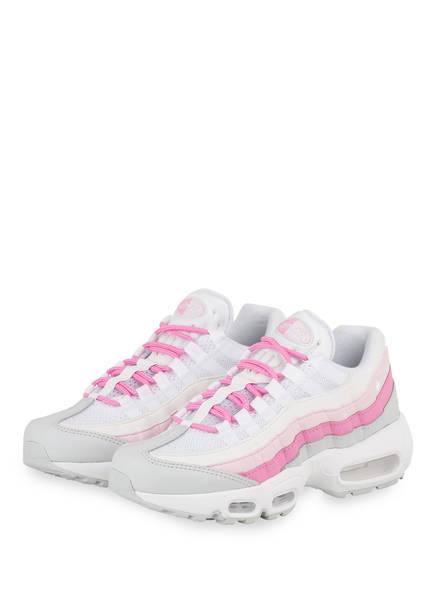 4ce0106d0c Nike Sneaker AIR MAX 95 ESSENTIAL, Farbe WEISS/ PINK/ GRAU (Bild 1