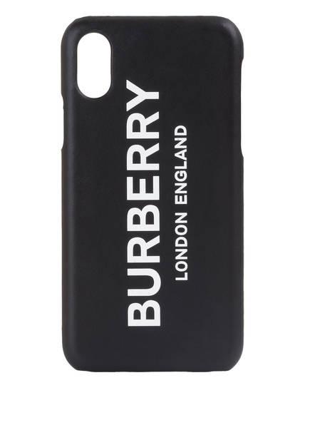 BURBERRY iPhone-Hülle RUFUS , Farbe: SCHWARZ (Bild 1)