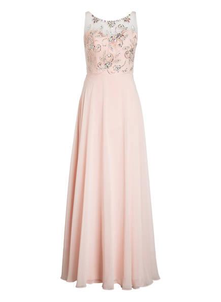 VISOUS Abendkleid mit Schmucksteinbesatz, Farbe: ROSA (Bild 1)