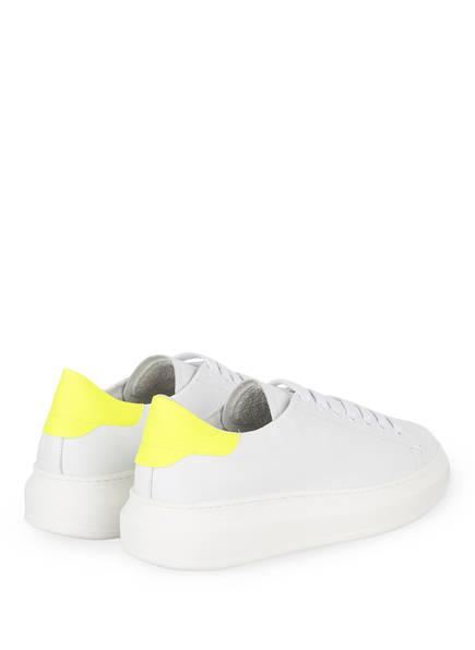 Plateau Neongelb sneaker Weiss Gio Gio Plateau sneaker 67qwPZZ0