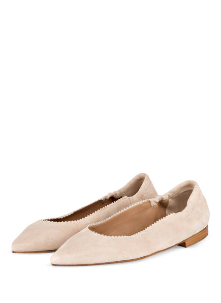 CAIMAN Ballerinas , Farbe: BEIGE (Bild 1)