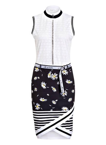 SPORTALM Kleid, Farbe: WEISS/ DUNKELBLAU (Bild 1)