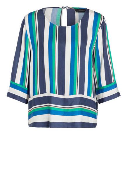 FREEQUENT Blusenshirt SIVA , Farbe: DUNKELBLAU/ WEISS/ GRÜN (Bild 1)