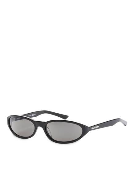 BALENCIAGA Sonnenbrille BB0007S, Farbe: 001 - SCHWARZ/ SCHWARZ (Bild 1)