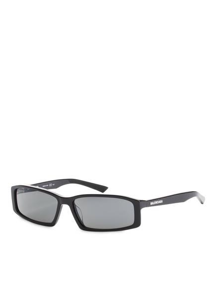 BALENCIAGA Sonnenbrille BB0008S, Farbe: 001 - SCHWARZ/ GRAU (Bild 1)