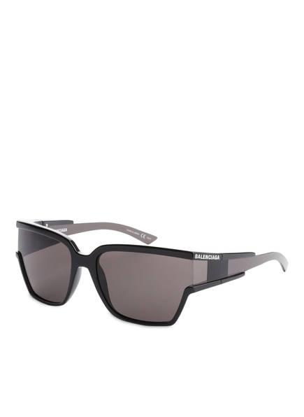BALENCIAGA Sonnenbrille BB0039S, Farbe: 001 - SCHWARZ/ SCHWARZ (Bild 1)