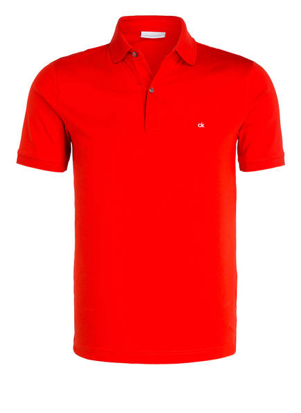 Calvin Klein Jersey-Poloshirt, Farbe: ROT (Bild 1)