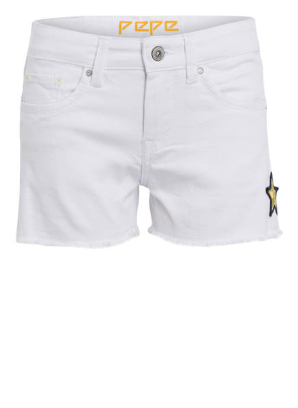 Pepe Jeans Jeans-Shorts , Farbe: WEISS (Bild 1)