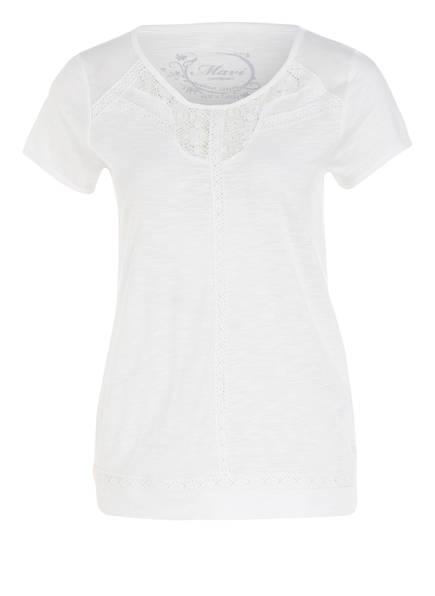 Weiss T shirt Mavi T shirt Mavi nqUUX0zw