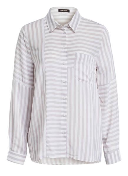 MORE & MORE Bluse , Farbe: WEISS/ HELLGRAU (Bild 1)