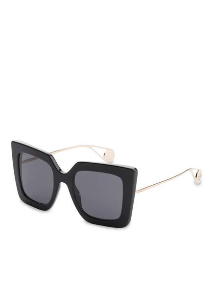 GUCCI Sonnenbrille GG0435S, Farbe: 001 - SCHWARZ/ GRAU (Bild 1)