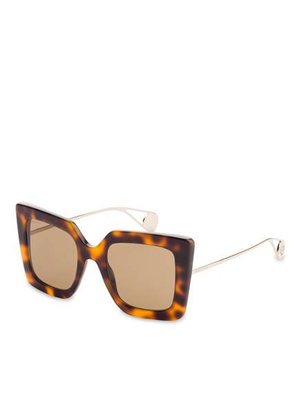 GUCCI Sonnenbrille GG0435S, Farbe: 003 - HAVANA/ BRAUN (Bild 1)