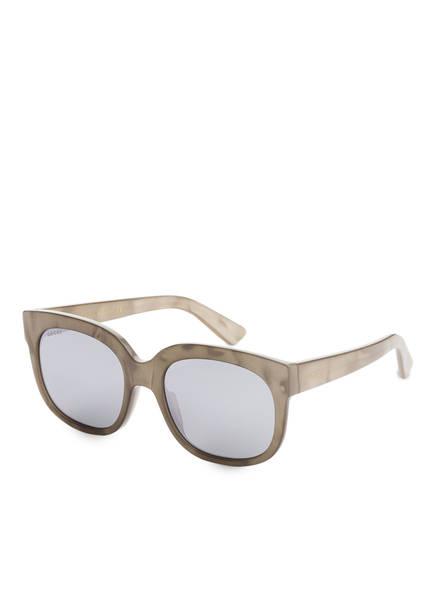 GUCCI Sonnebrille GG0361S, Farbe: 007 - BEIGE/ SILBER VERSPIEGELT (Bild 1)