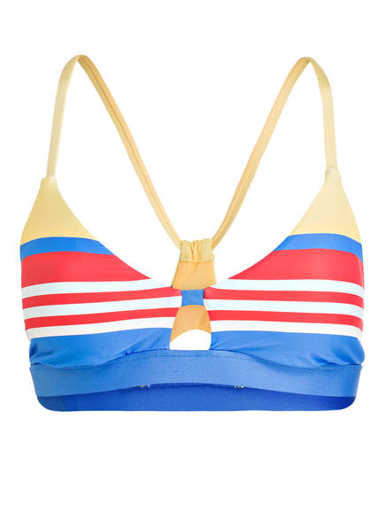 POLO RALPH LAUREN Bikini-Top, Farbe: BLAU/ ROT/ WEISS (Bild 1)