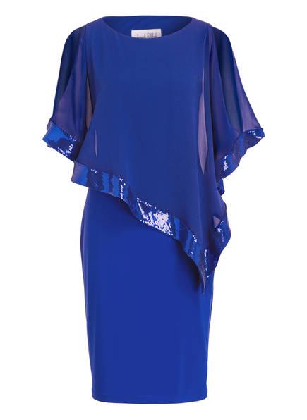 Ribkoff Paillettenbesatz Blau Kleid Joseph Mit zYwx8d8qR