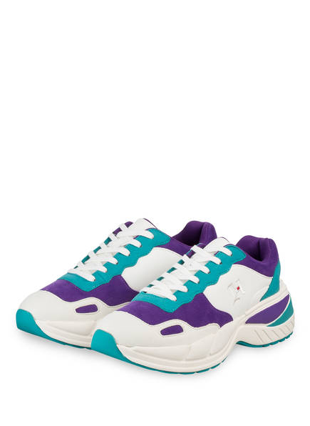 TOMMY HILFIGER Sneaker CHUNKY, Farbe: WEISS/ LILA/ TÜRKIS (Bild 1)