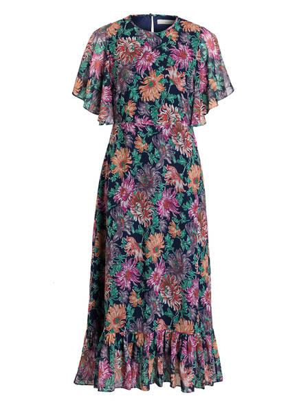 POSTYR Kleid , Farbe: DUNKELBLAU/ GRÜN/ FUCHSIA (Bild 1)