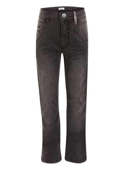 name it Jeans NITTRAP , Farbe: DARK GREY DENIM (Bild 1)