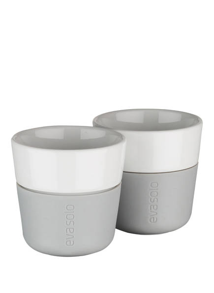eva solo 2er-Set Espresso-Becher, Farbe: GRAU  (Bild 1)