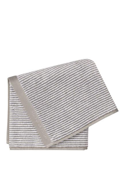 Marc O'Polo Handtuch TIMELESS, Farbe: GRAU/ WEISS GESTREIFT (Bild 1)
