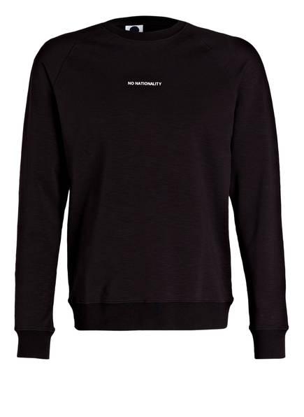 NN07 Sweatshirt GEOFF, Farbe: SCHWARZ (Bild 1)