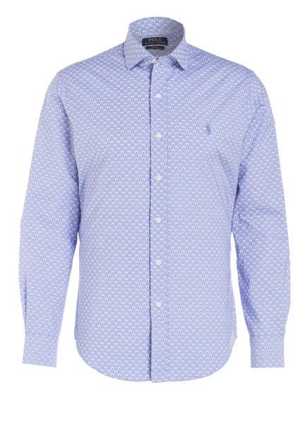 POLO RALPH LAUREN Hemd Slim Fit, Farbe: HELLBLAU/ PINK (Bild 1)