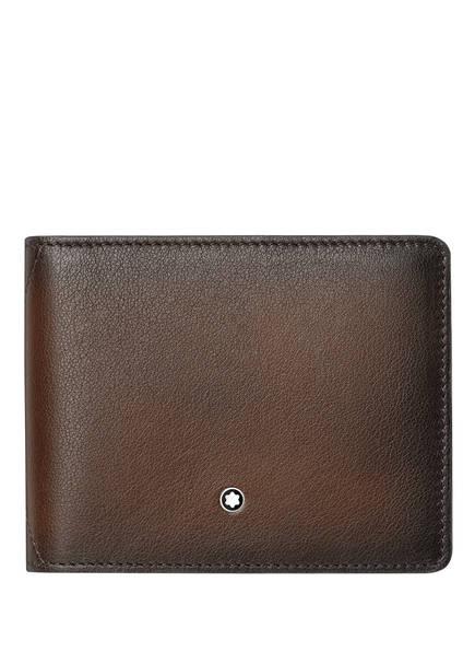 MONTBLANC Geldbörse SFUMATO 4CC, Farbe: BRAUN (Bild 1)