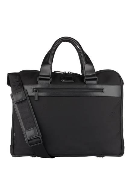 MONTBLANC Business-Tasche MY MONTBLANC NIGHTFLIGHT mit Laptopfach, Farbe: SCHWARZ (Bild 1)
