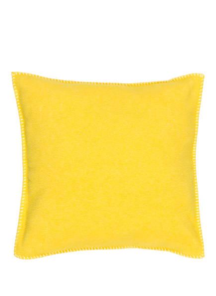 zoeppritz Dekokissenhülle SOFT FLEECE , Farbe: GELB (Bild 1)