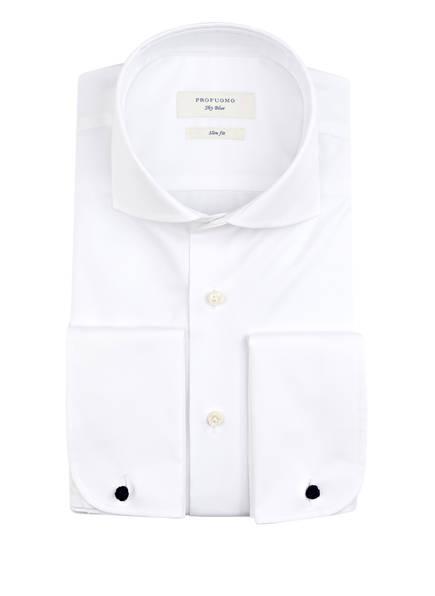 PROFUOMO Hemd Slim Fit mit Umschlagmanschette, Farbe: WEISS (Bild 1)