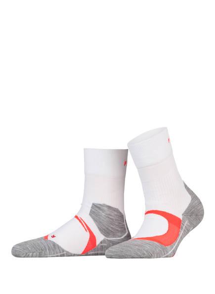 FALKE Running-Socken RU4 COOL, Farbe: 2028 WHITE-NEON RED (Bild 1)