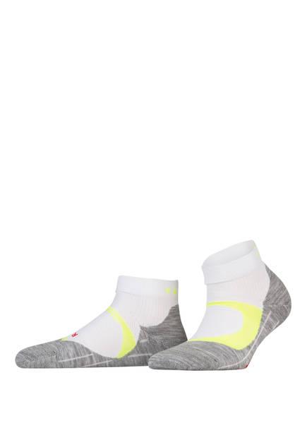 FALKE Running-Socken RU4 COOL SHORT, Farbe: WEISS/ GELB (Bild 1)