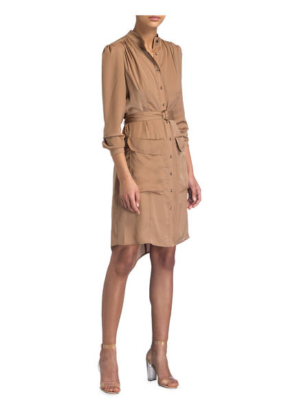 Damsel Tulia Kleid Dress In A Camel YP6qYrw
