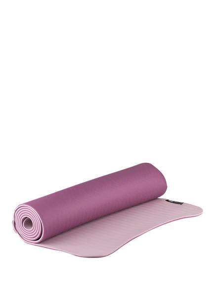 YOGISTAR Yogamatte YOGIMAT PRO, Farbe: AUBERGINE/ ROSE (Bild 1)