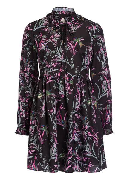 TED BAKER Kleid FORTUNE , Farbe: SCHWARZ/ GELB/ HELLROSA (Bild 1)