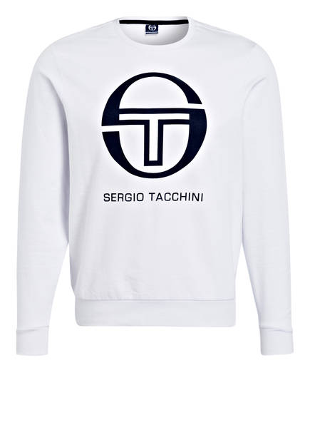 Sergio Sergio Weiss Tacchini Sweatshirt Tacchini Tacchini Weiss Sweatshirt Sergio rWprq8X