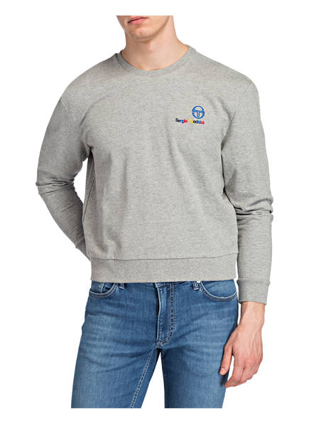 Sergio Sergio Tacchini Grau Sweatshirt Meliert Tacchini FBvx5BUq