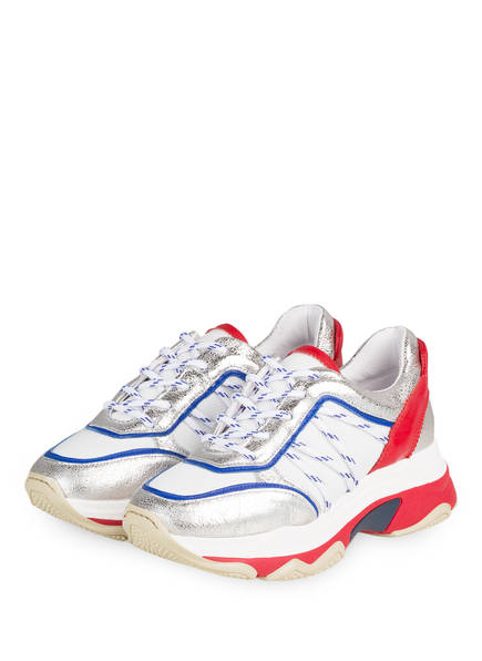 CLAUDIE PIERLOT Sneaker ADATIS , Farbe: SILBER/ ROT (Bild 1)