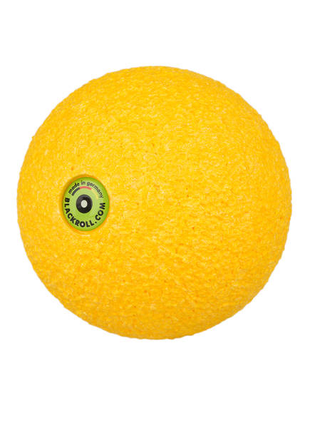 BLACKROLL Ball 8 cm , Farbe: GELB (Bild 1)