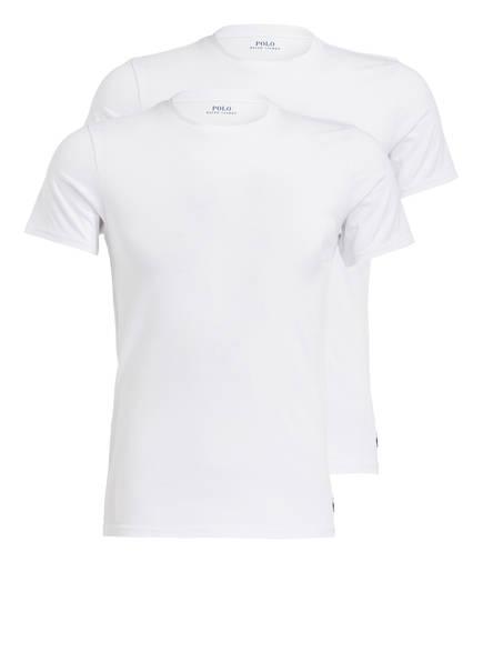 POLO RALPH LAUREN 2er-Pack T-Shirts , Farbe: WEISS (Bild 1)
