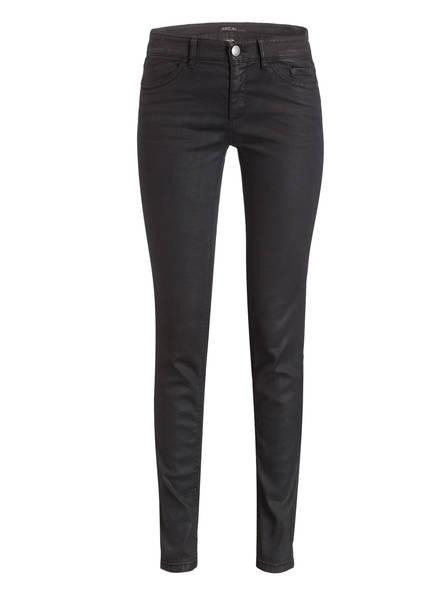 MARC CAIN Coated-Jeans, Farbe: 900 SCHWARZ (Bild 1)