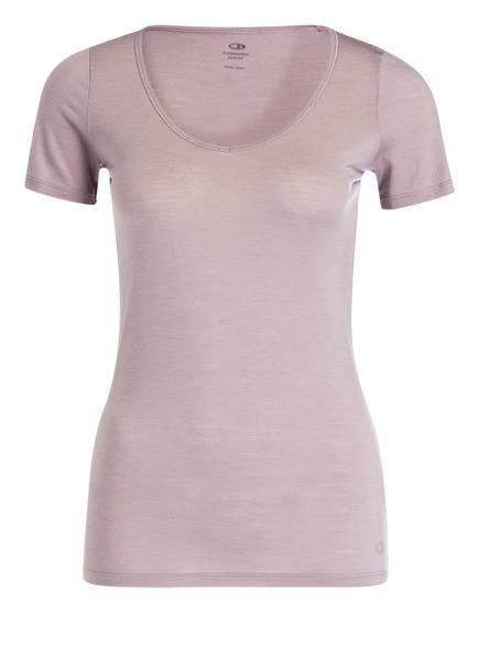 icebreaker Funktionswäsche-Shirt SIREN SWEETHEART, Farbe: ALTROSA (Bild 1)