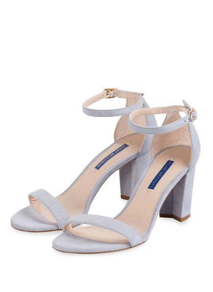 STUART WEITZMAN Sandaletten, Farbe: HELLBLAU (Bild 1)