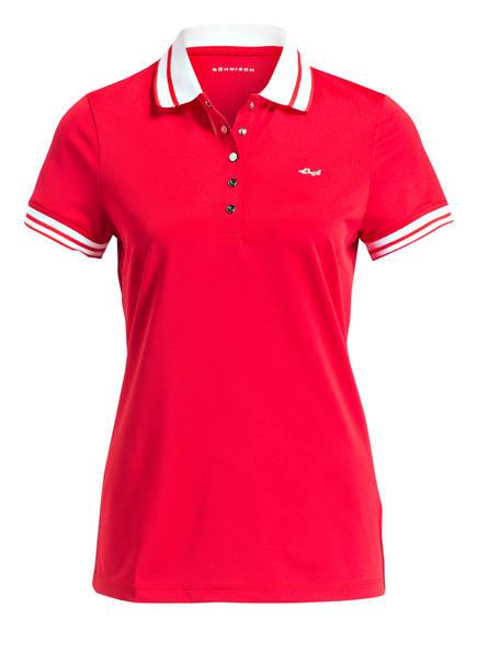 RÖHNISCH Piqué-Poloshirt PIM, Farbe: ROT (Bild 1)