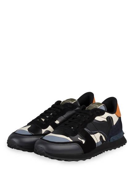 VALENTINO GARAVANI Sneaker ROCKRUNNER CAMOUFLAGE, Farbe: SCHWARZ/ GRAU/ WEISS (Bild 1)