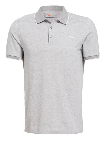KJUS Piqué-Poloshirt STAN , Farbe: GRAU MELIERT (Bild 1)