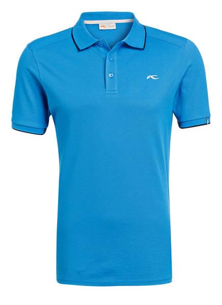 KJUS Piqué-Poloshirt STAN , Farbe: BLAU (Bild 1)