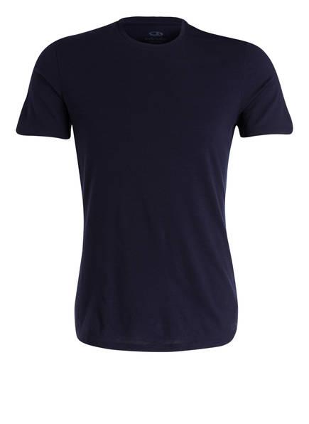 icebreaker Funktionswäsche-Shirt ANATOMICA CREWE mit Merinowolle-Anteil, Farbe: DUNKELBLAU (Bild 1)